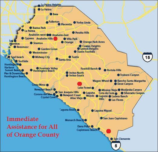 Orange county singles scene